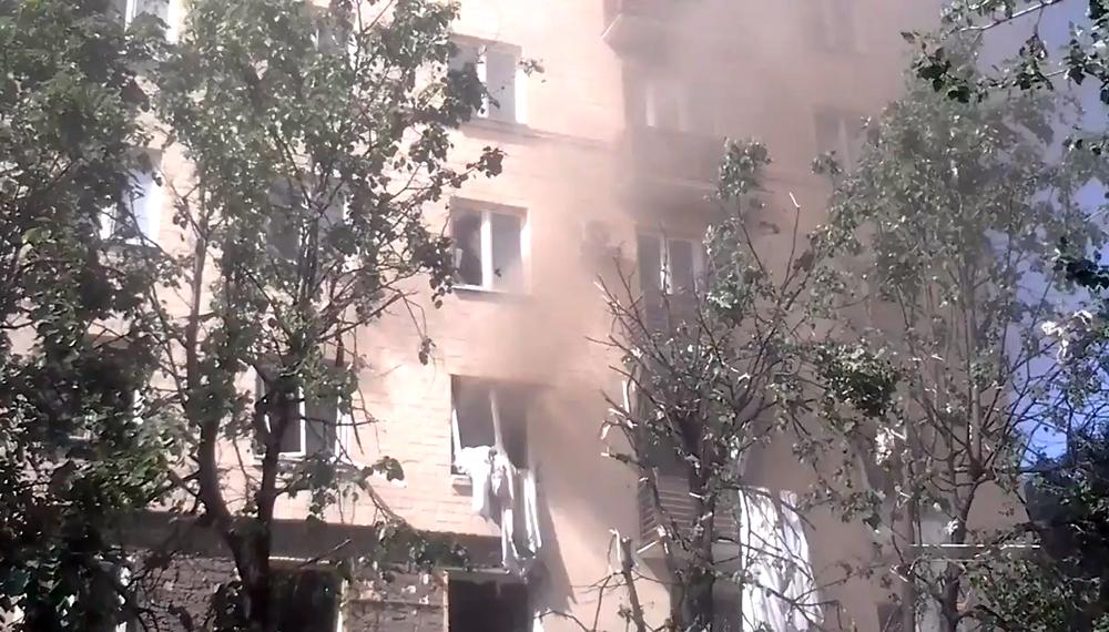 Взрыв газа в доме