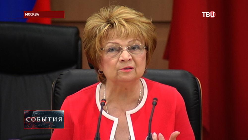 Заместитель председателя Госдумы Людмила Швецова