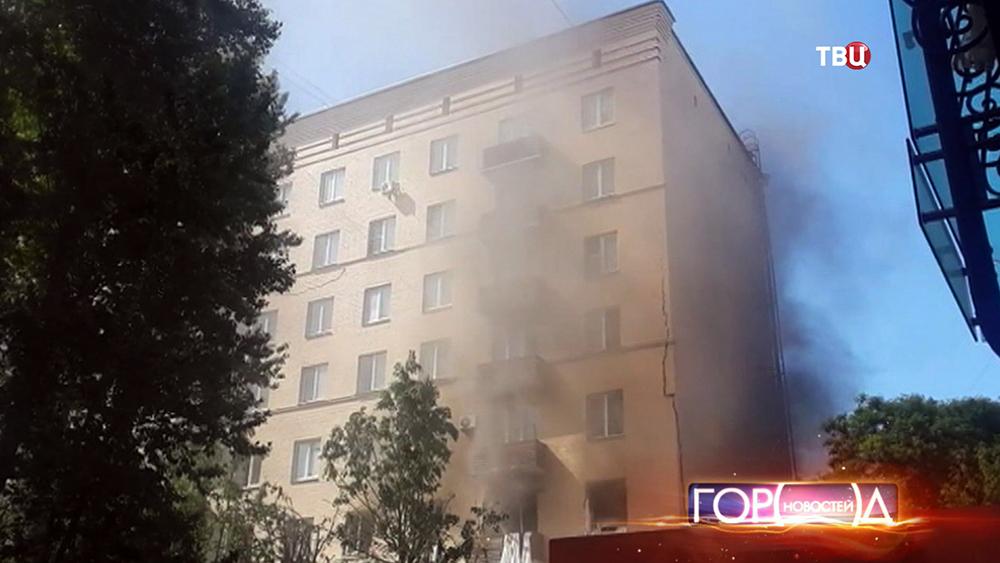 Взрыв газа в жилом доме на Кутузовском проспекте