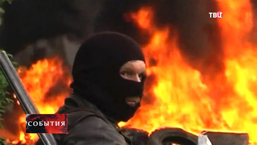 Боец самообороны Юго-Востока Украины