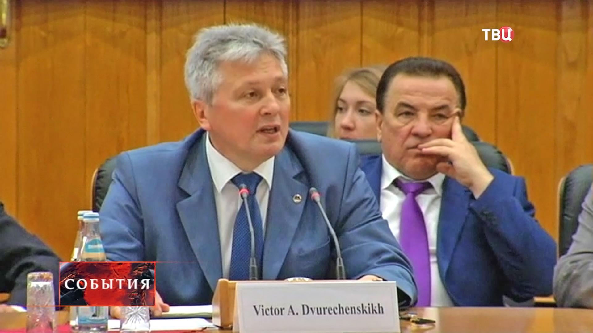 Председатель Контрольно-счетной палаты Москвы Виктор Двуреченских