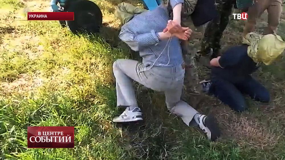 Российские журналисты взяты в плен на Украине
