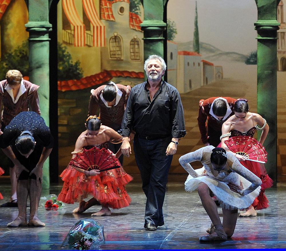 "Хореограф Борис Эйфман на премьере балета ""Я - Дон Кихот"""