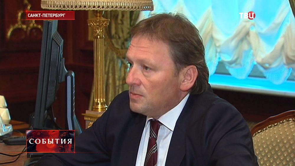 Уполномоченный по правам предпринимателей Борис Титов