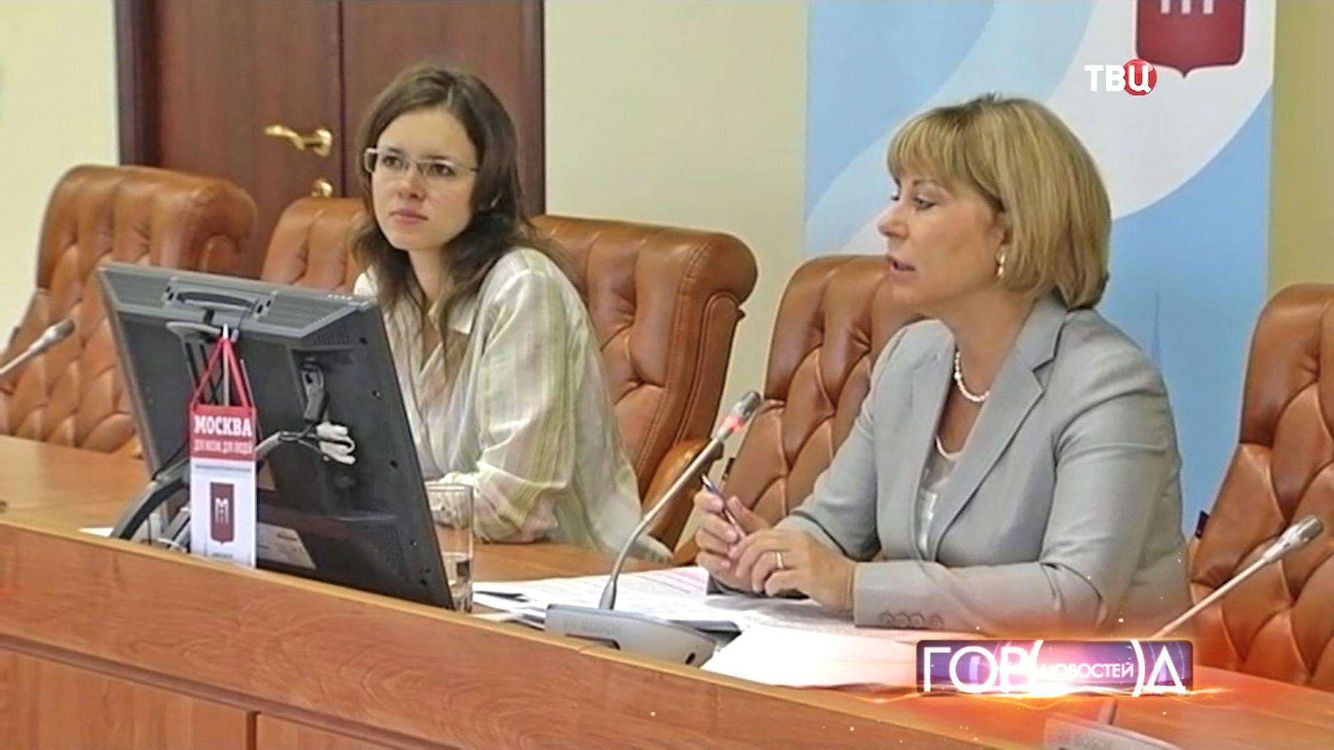 Пресс-конференция в Москве