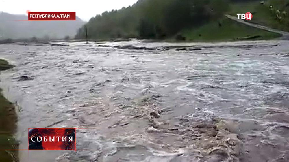 Паводок на Алтае