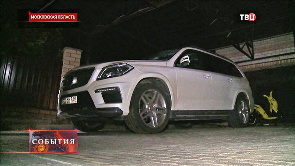 Машина Александра Зубкова