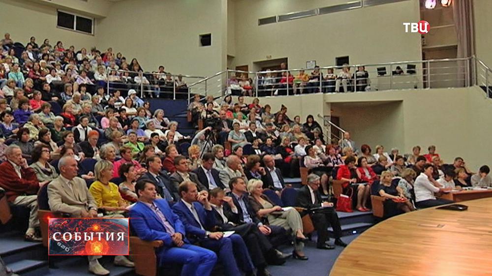 Встреча чиновников с жителями Москвы