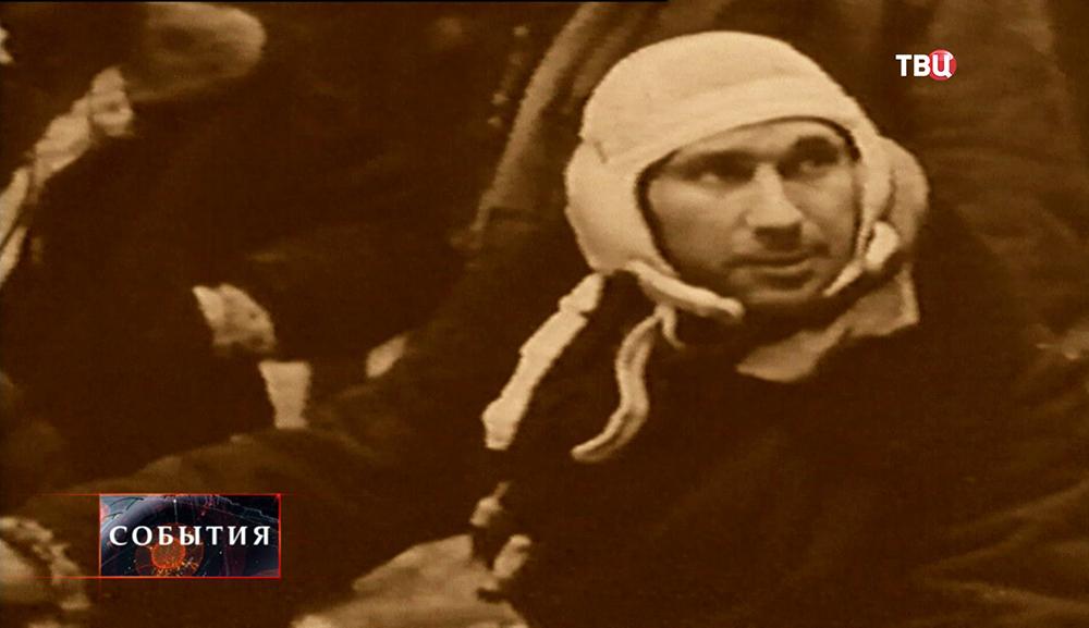 Летчик-космонавт Алексей Леонов после приземления