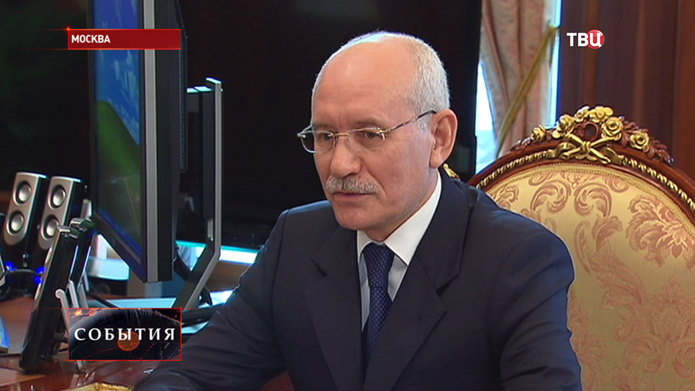 Экс-глава Башкирии Рустэм Хамитов