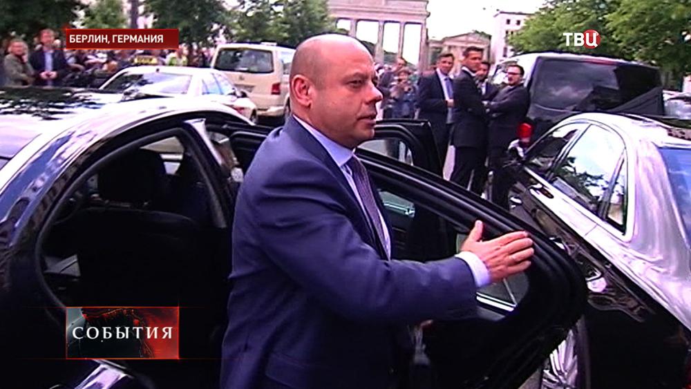 Министр энергетики Украины Юрий Продан в Берлине