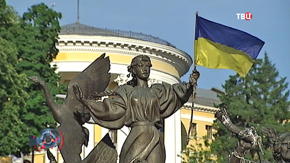 Памятник на Украине