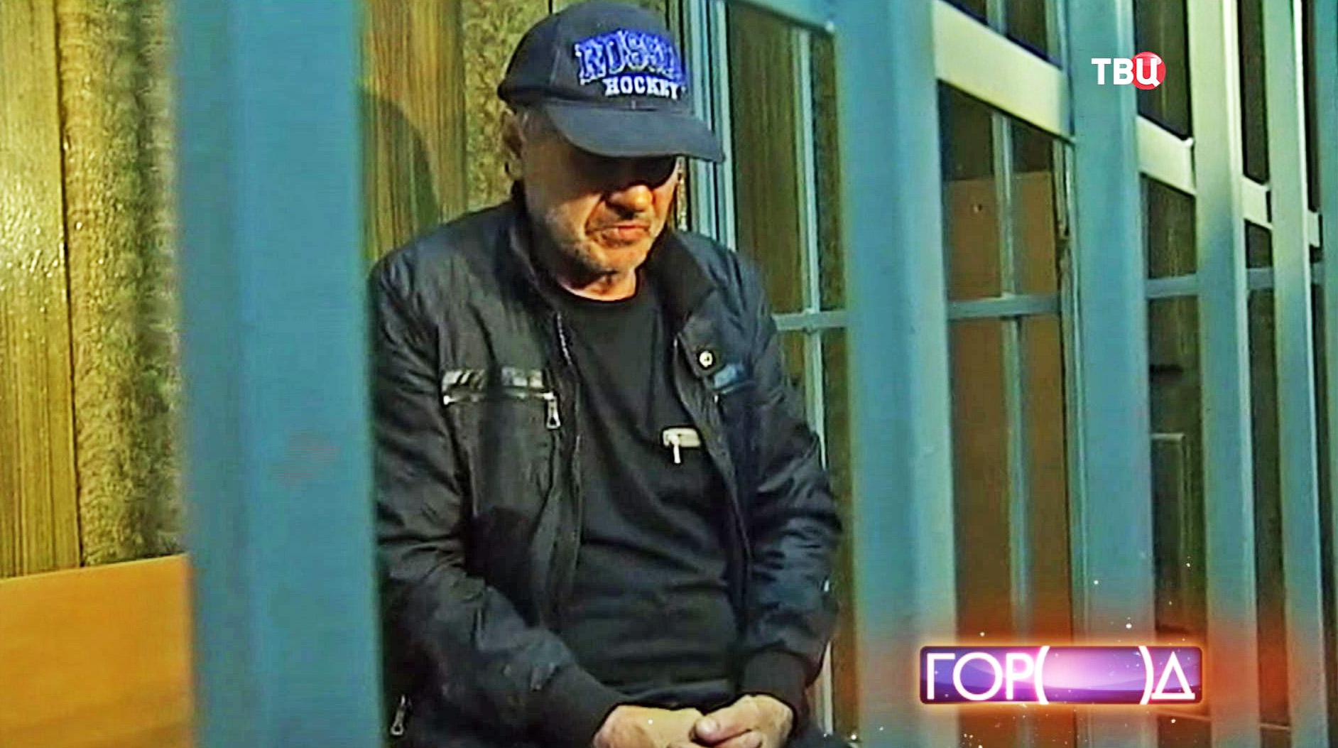 Подозреваемый Валерий Макаренков в зале суда