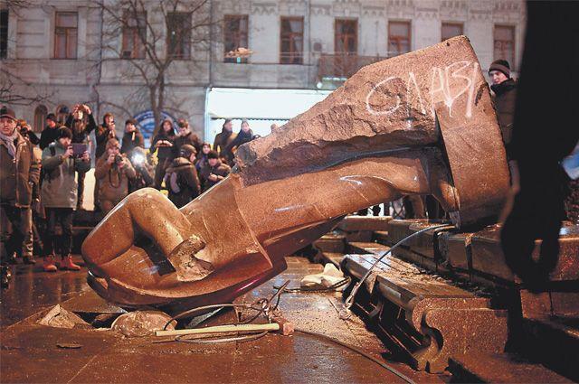 Памятник Ленину в Днепропетровске