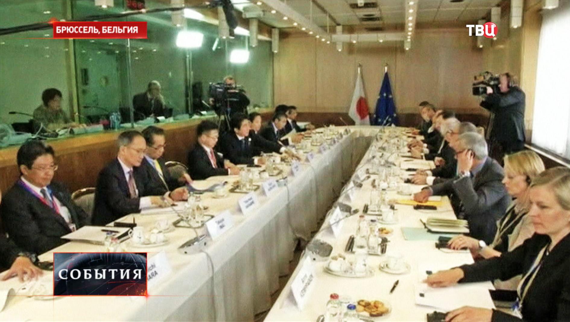 Заседание лидеров стран G7