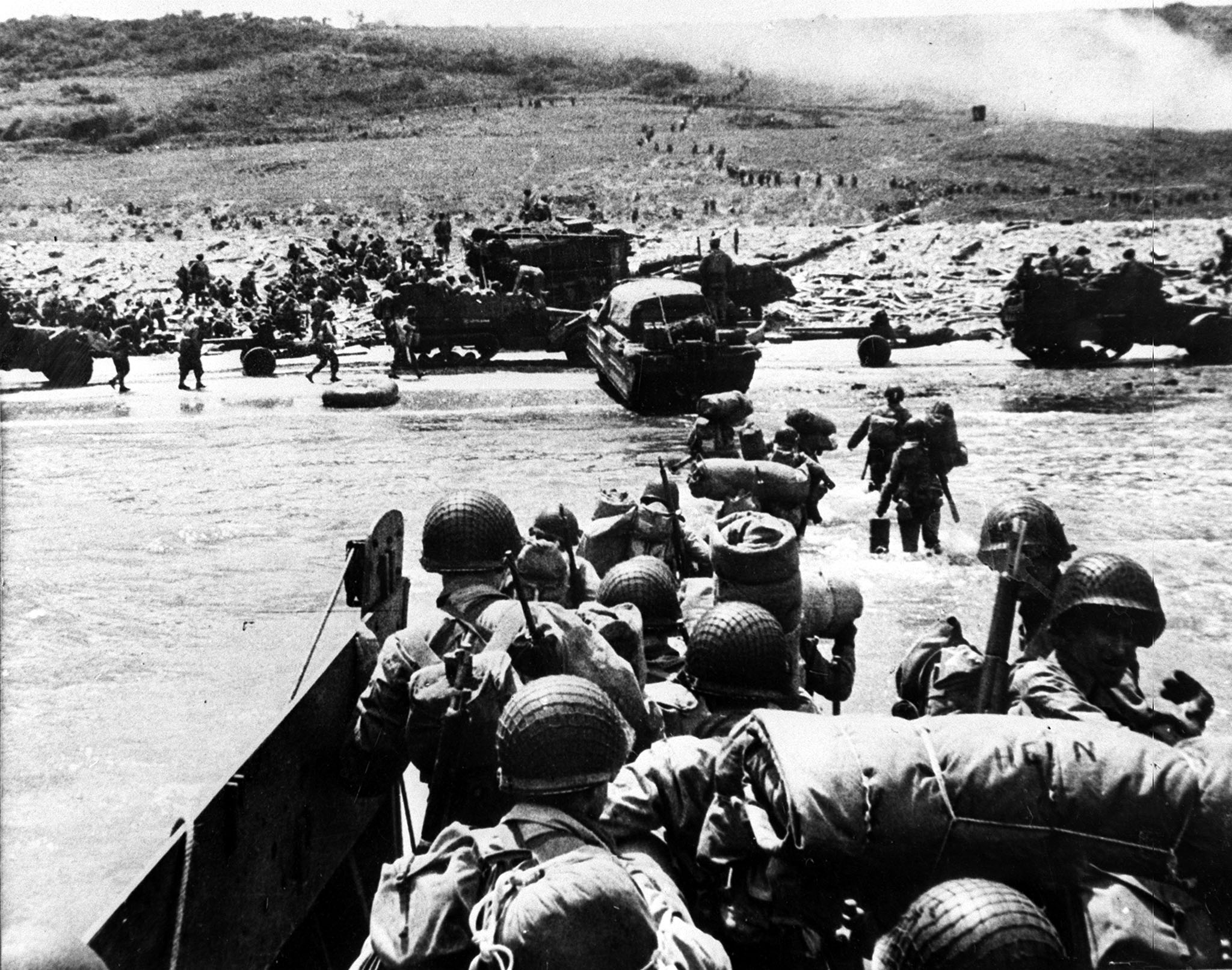 Высадка союзников в Нормандии, 1944 год