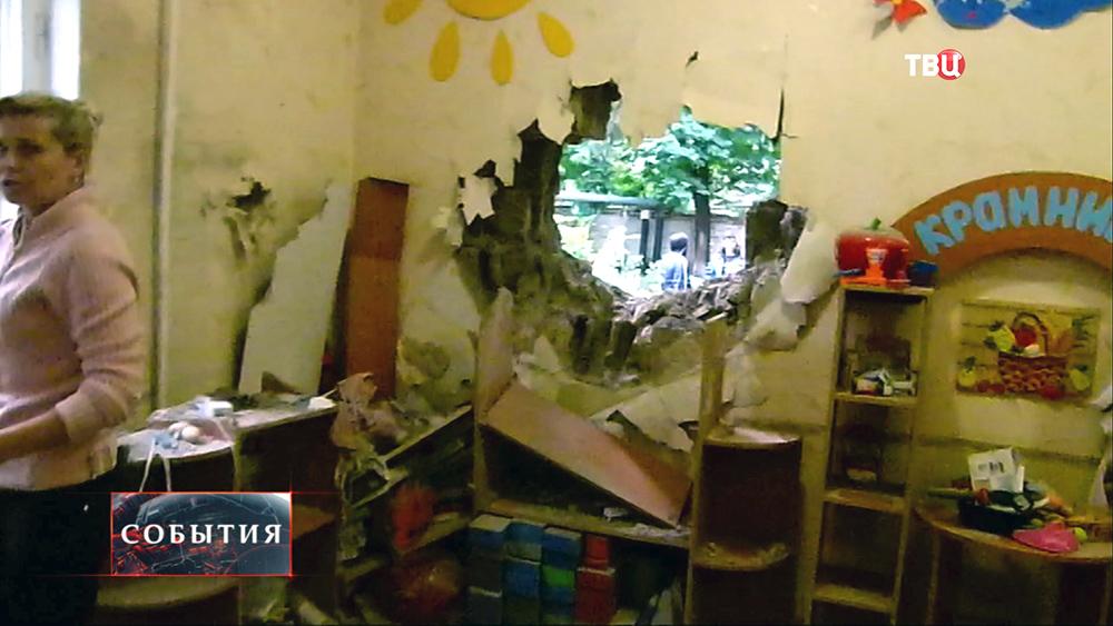Нацгвардия Украины обстреляла детский сад