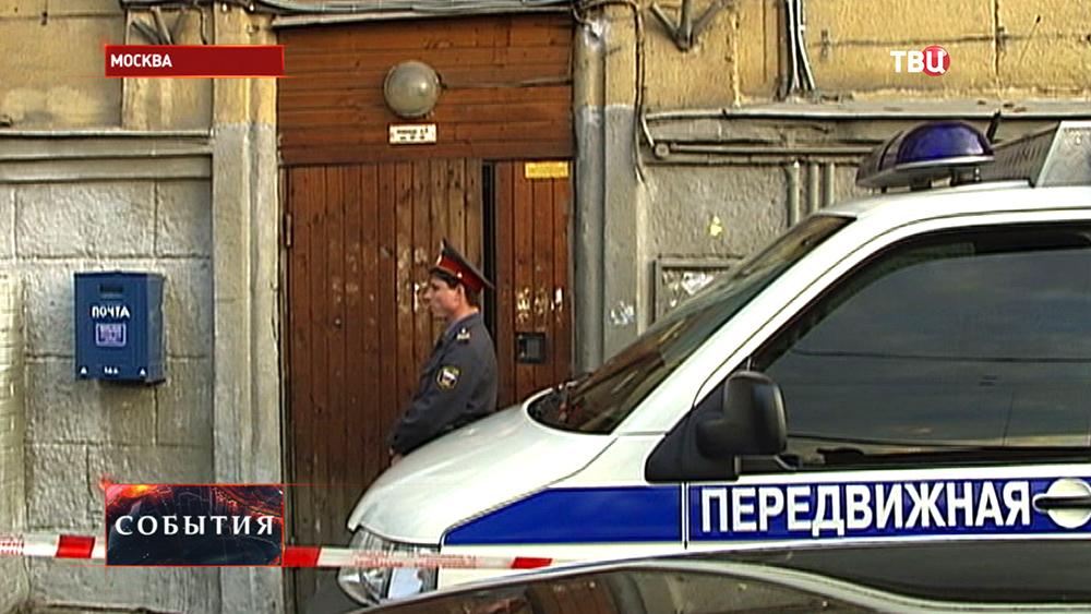 Место убийства Анны Политковской
