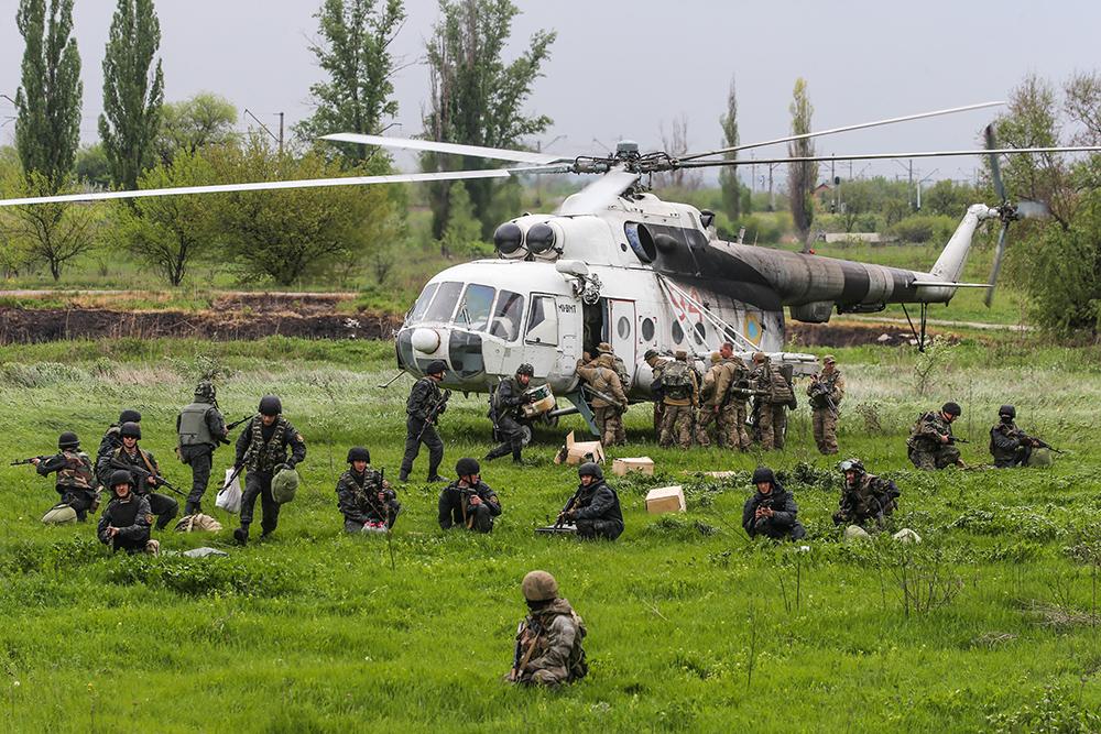 Спецоперация Украинской армии под Славянском