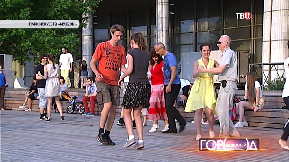 """Уличные танцы в парке """""""