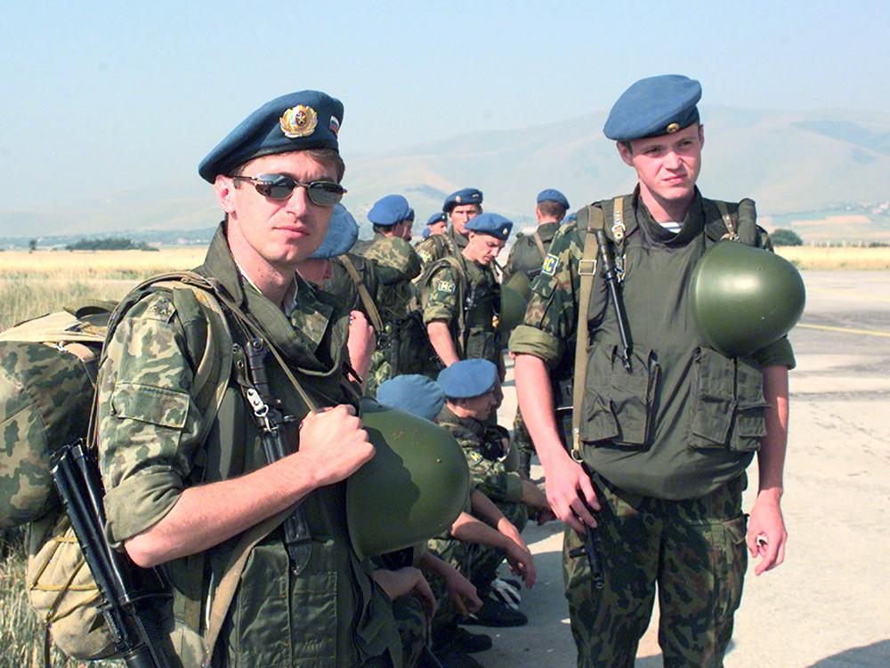 Российские миротворцы в Югославии