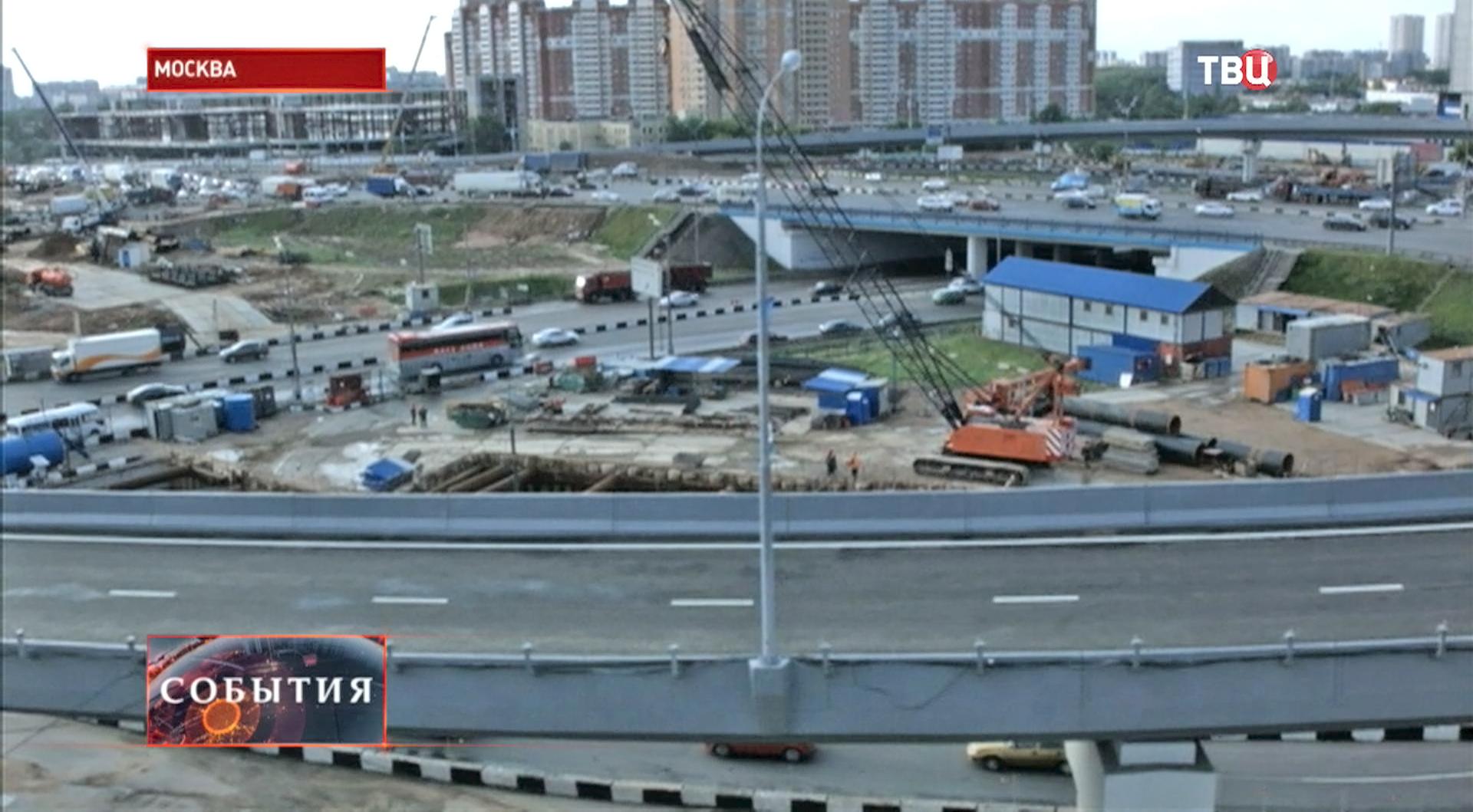 Развязка Дмитровского шоссе и МКАД