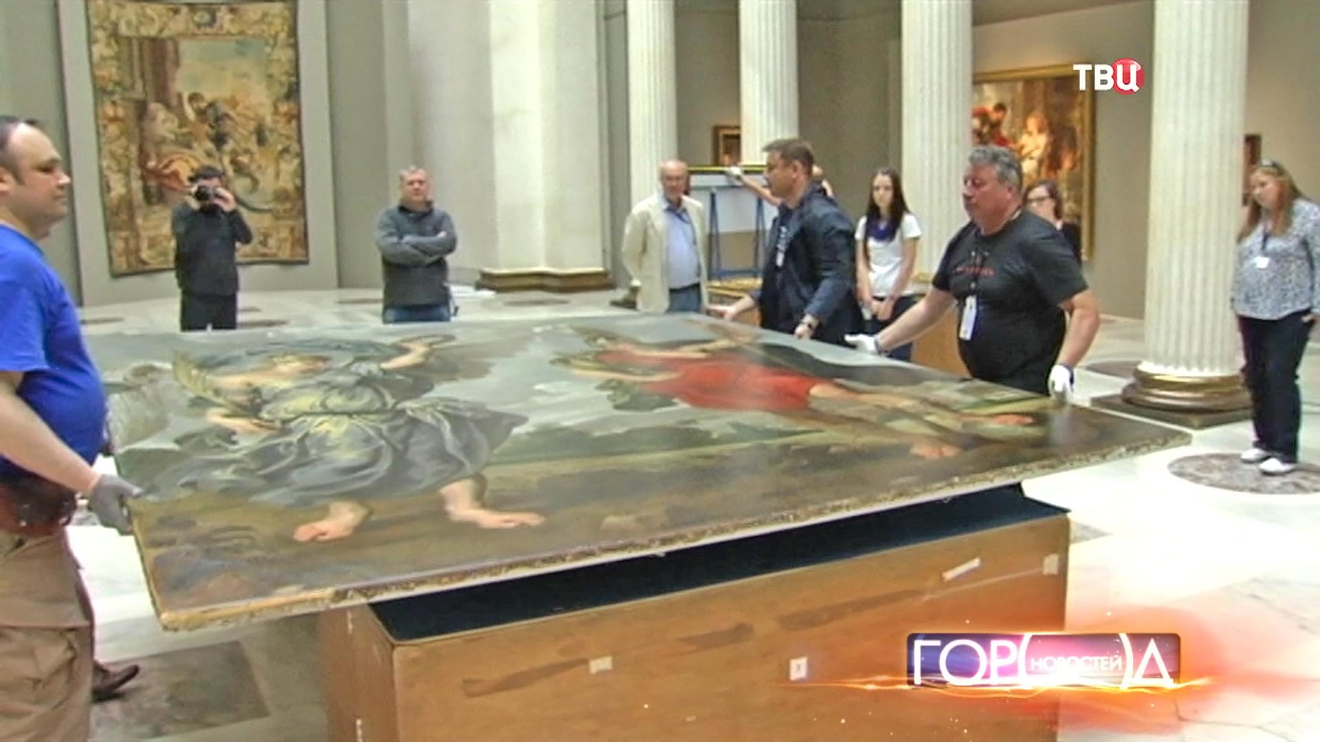 Открытие выставки в Пушкинском музее