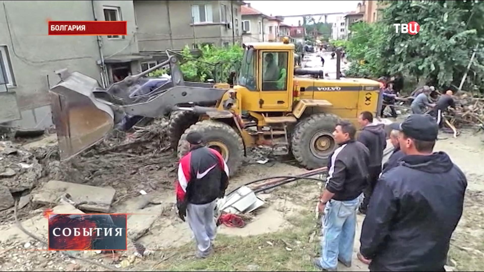 Наводнение в Болгарии