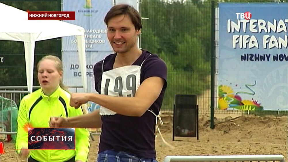 Жители Нижнего Новгорода сдают нормативы ГТО