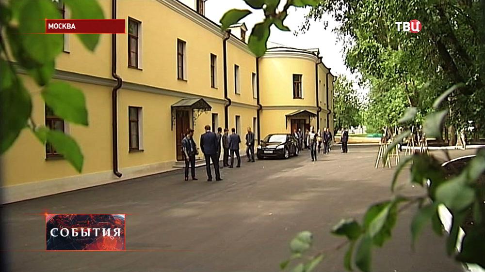 Здание оранжереи Екатерининского дворца в Лефортово после реконструкции