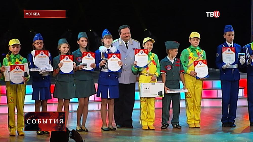 Финал соревнований юных дорожных инспекторов