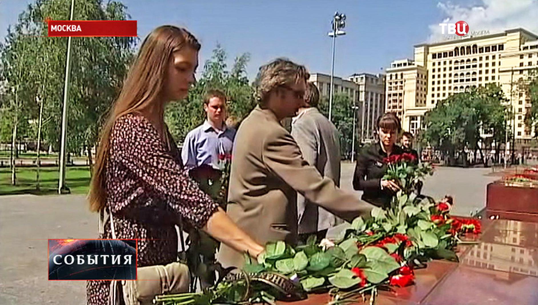 Акция памяти по жертвам одесской трагедии