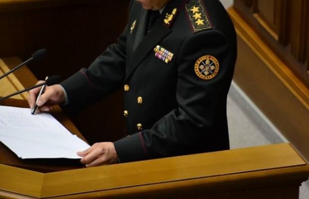 """Валерий Гелетей """"подписывает"""" присягу украинскому народу закрытой ручкой"""