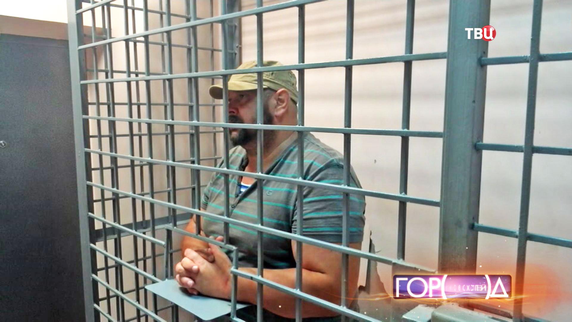 """Александр Матусов """"Басмач"""", обвиняемый в причастности к деятельности """"щелковской"""" преступной группировки"""