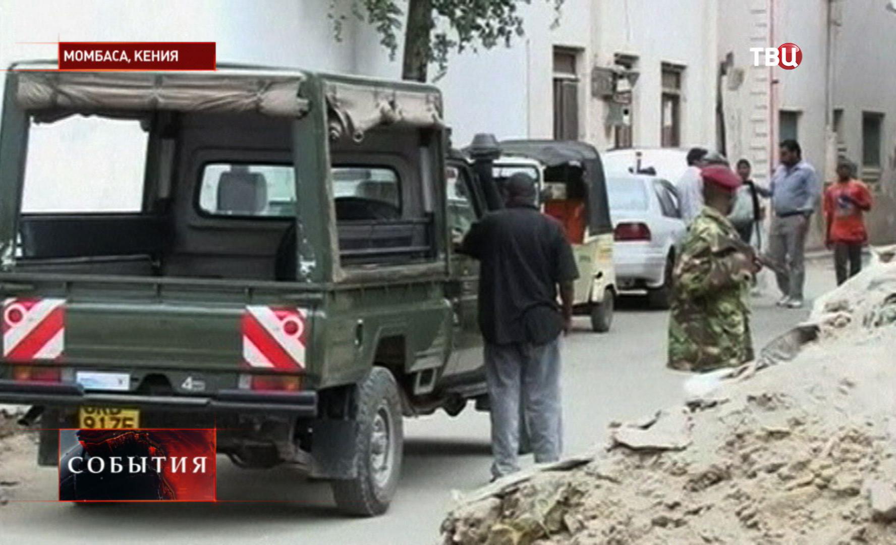Место убийства российской туристки в Кении