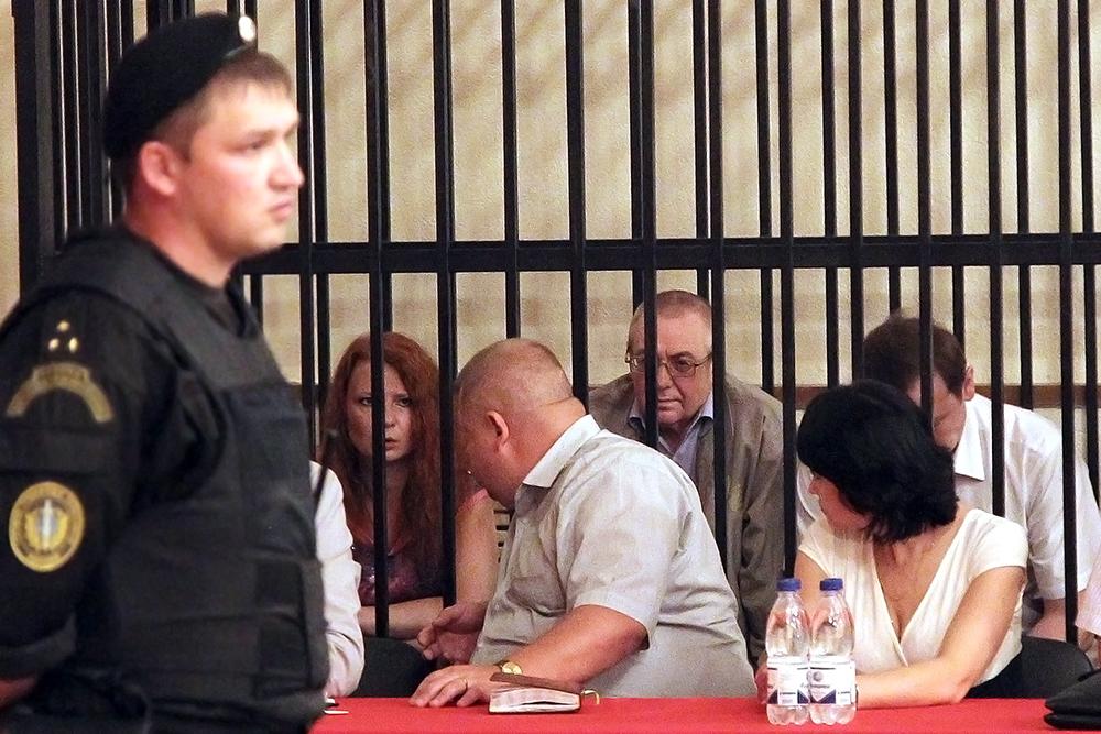 """Оглашение приговора по делу о крушении теплохода """"Булгария"""" в Казани"""