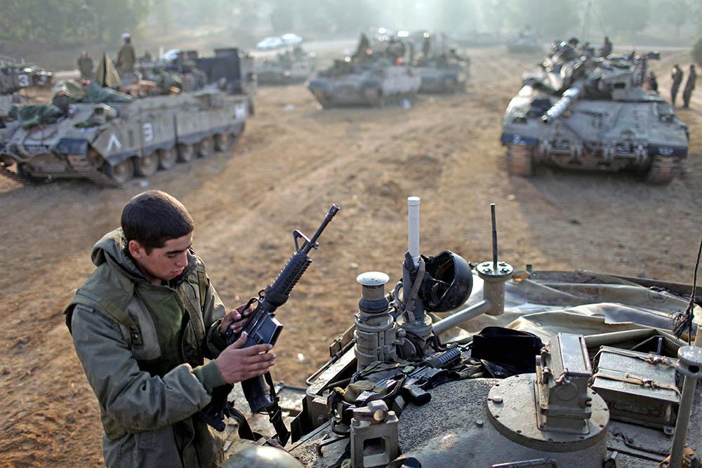 Военнослужащий армии Израиля
