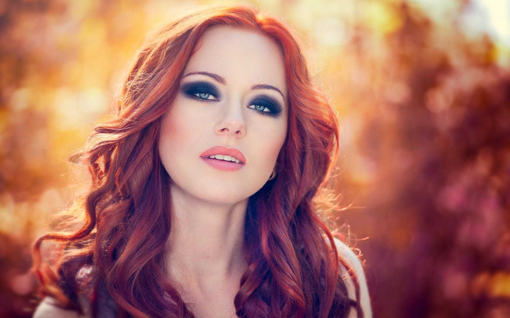 Фото девушек с рыжими волосами 15 фотография