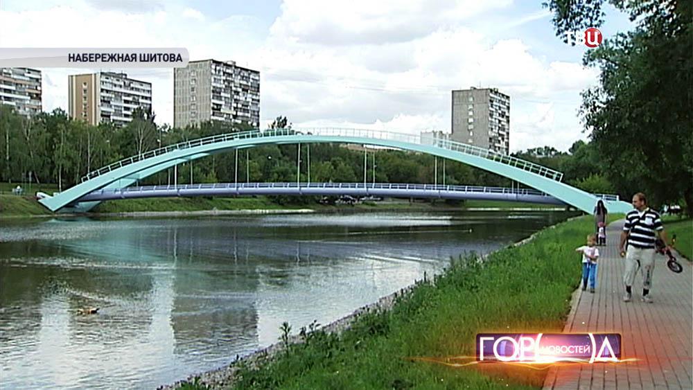 Мост через Черкизовский пруд
