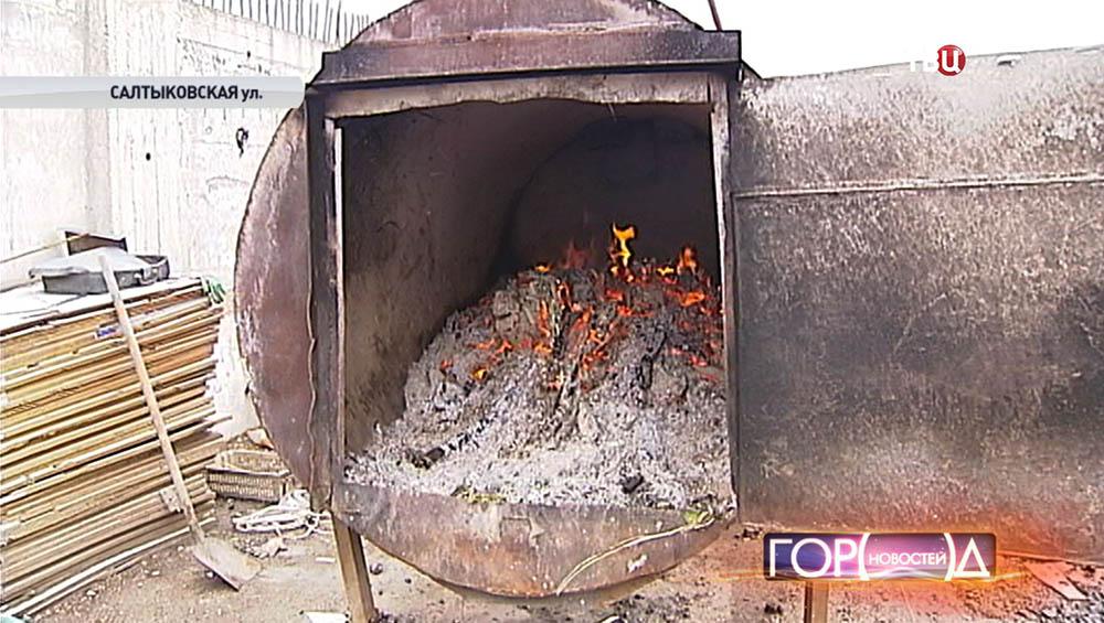 Мусоросжигательная печь