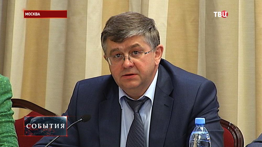 Заместитель министра здравоохранения РФ Сергей Краевой