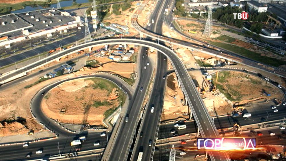 Строительство новой транспортной развязки