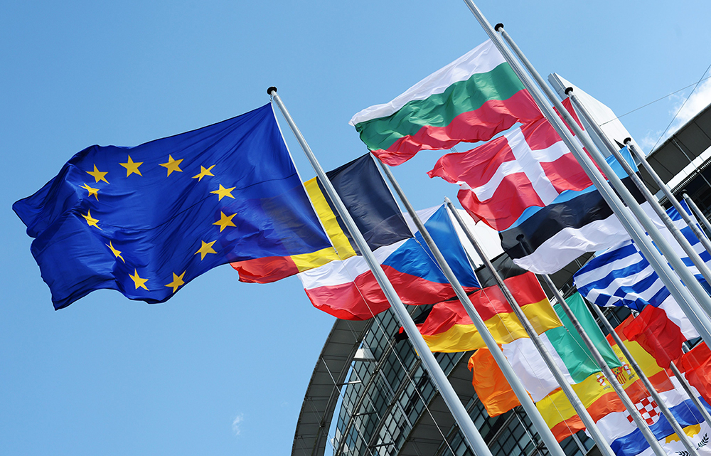 Флаги стран ЕС