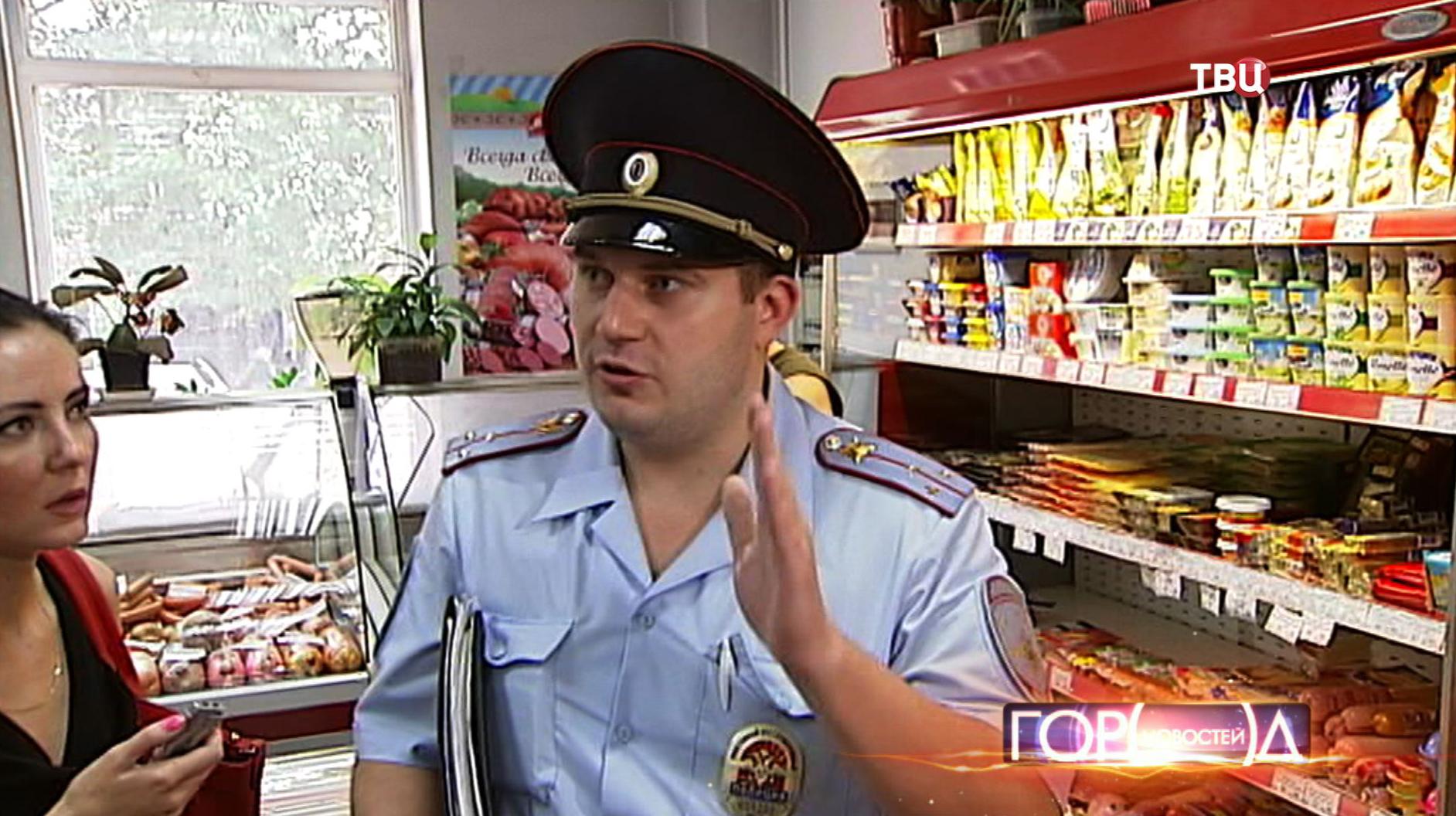 Полиция проверяет лицензию на продажу алкоголя