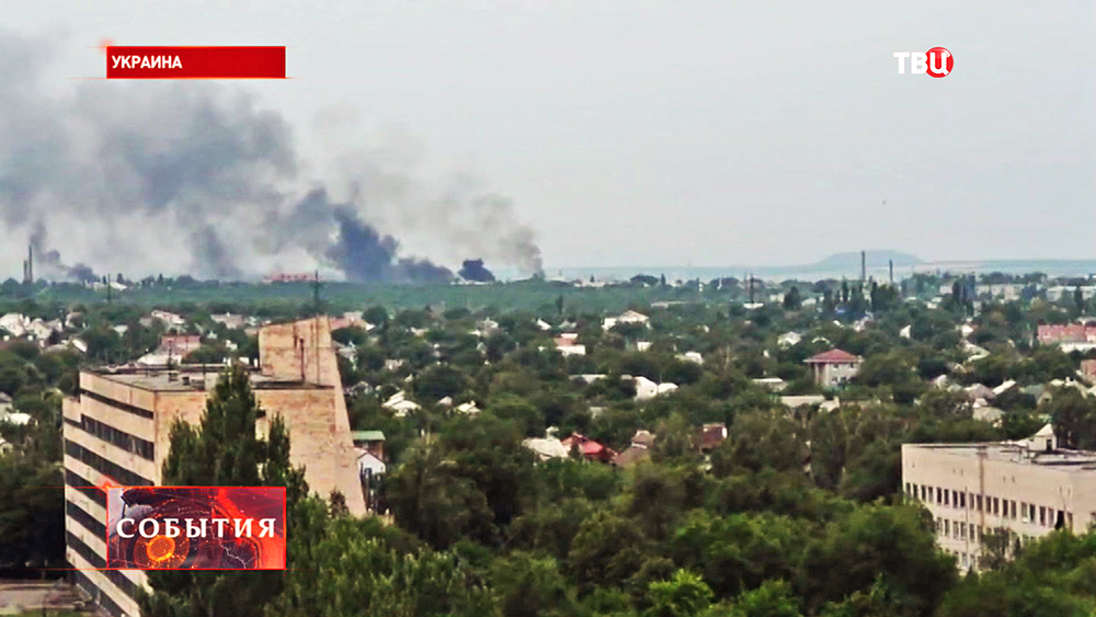 Бой под Луганском