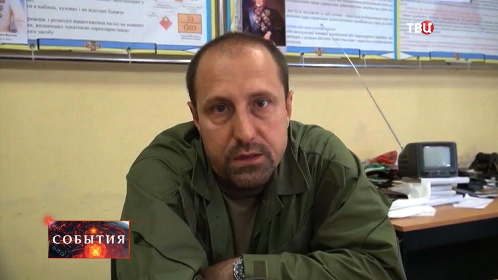 Секретарь Совета безопасности ДНР Александр Ходаковский