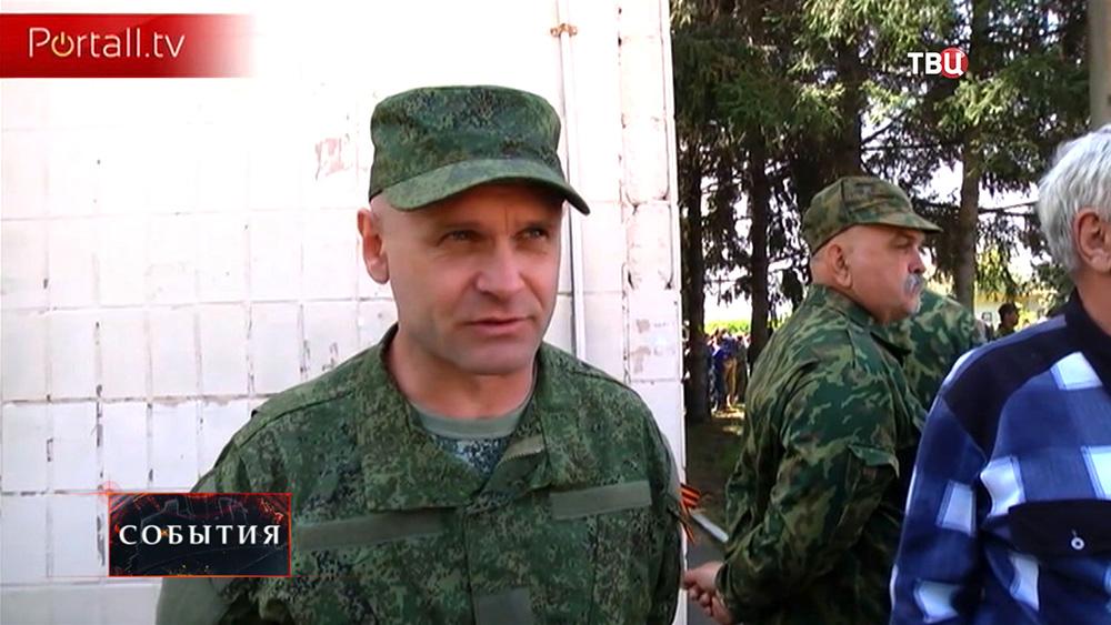 Командир ополчения ДНР Алексей Мозгов
