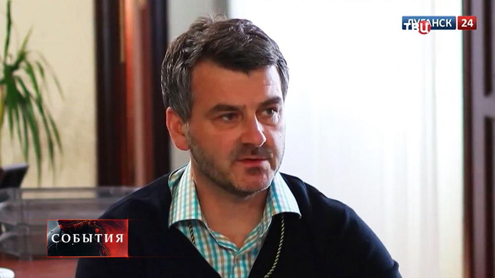Премьера-министр ЛНР Марат Баширов