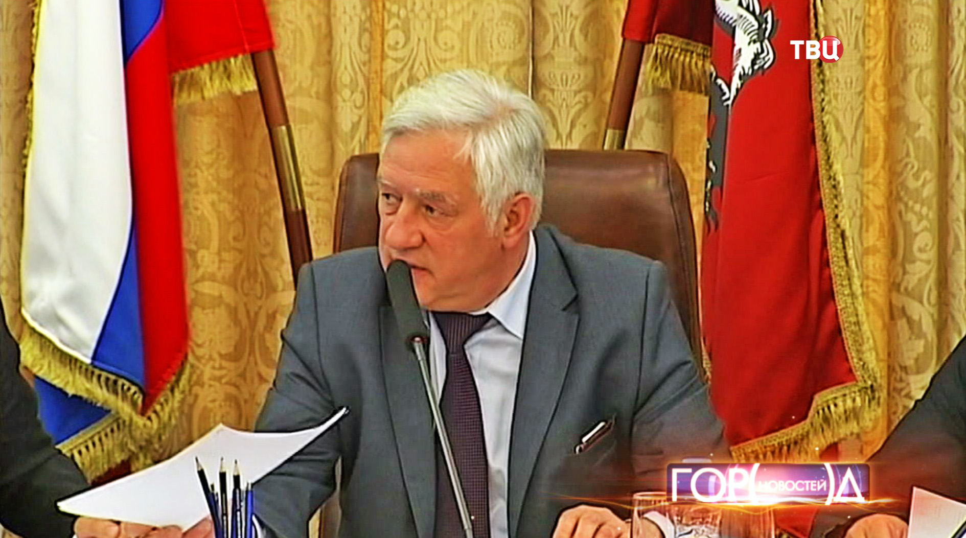 Глава Мосгоризбиркома Валентин Горбунов