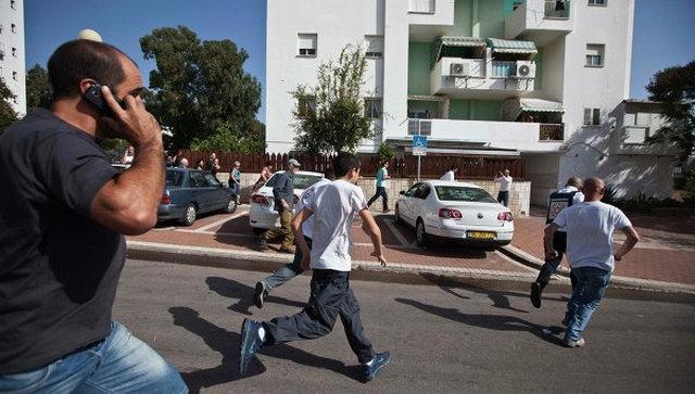 Жители города Эйлат в Израиле
